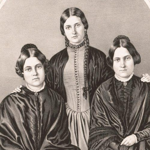 19th century women portrait