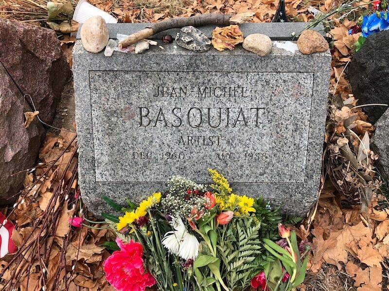 basquiat gravestone