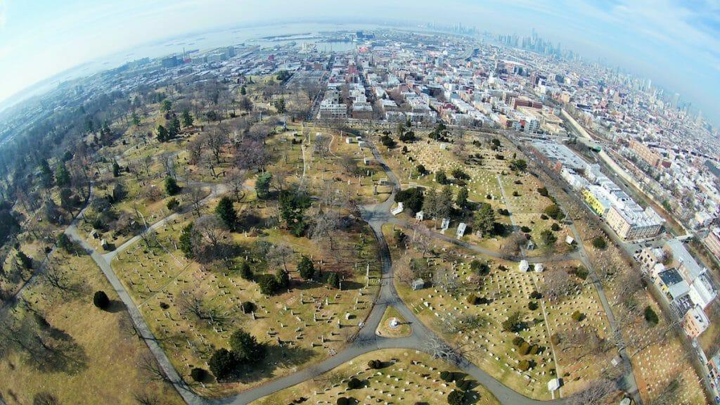 Green-Wood drone aerial photos