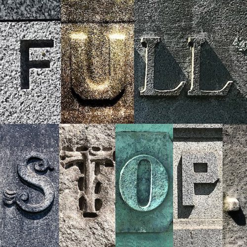 full stop event graphic