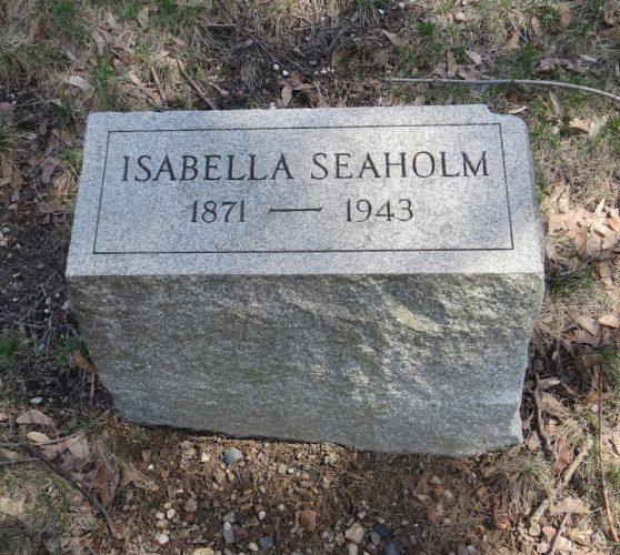 seaholm gravestone