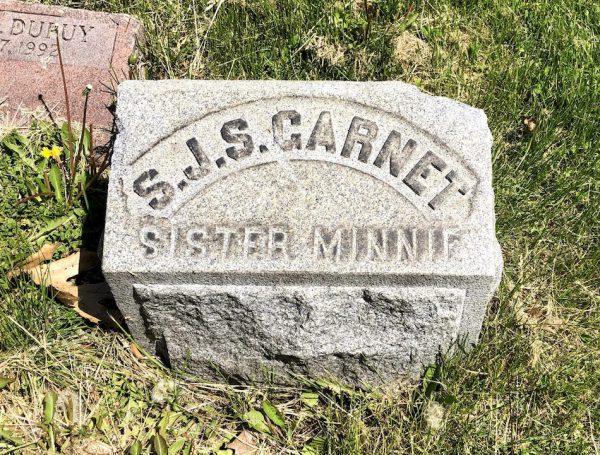 garnet gravestone