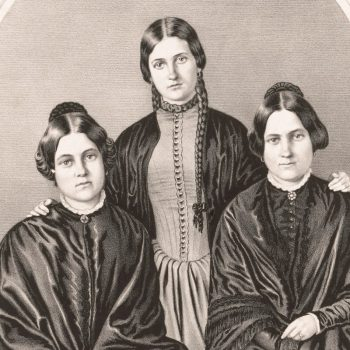spiritualists suffragette image
