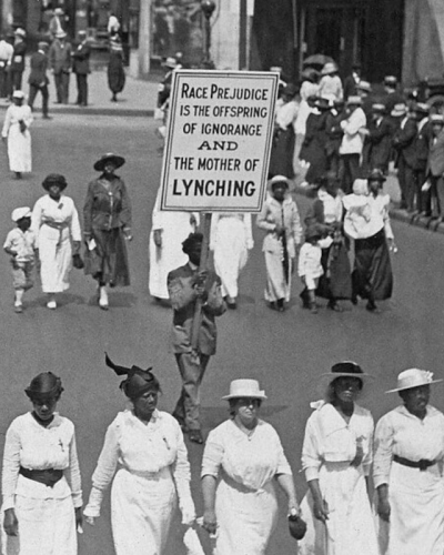 1917 silent march