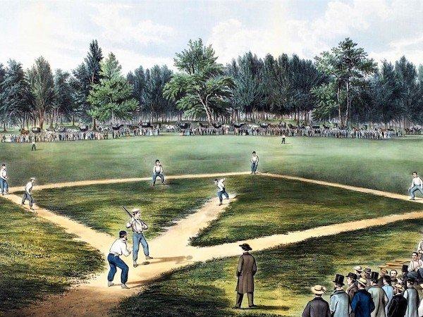 early baseball field