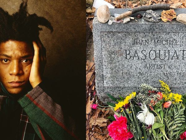basquiat and grave