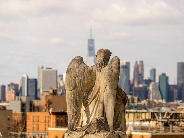 angel nyc skyline