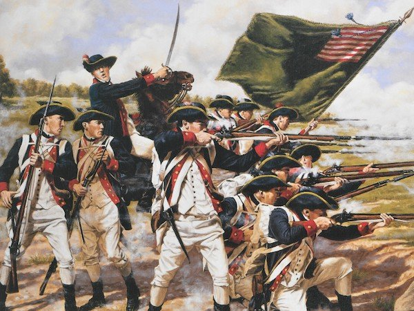 battle of brooklyn painting