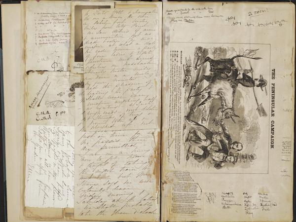civil war diary scraps