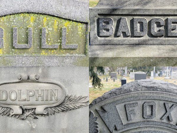 green-wood grave words